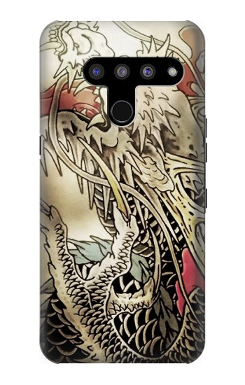 Printed Yakuza Tattoo LG V50, LG V50 ThinQ 5G Case