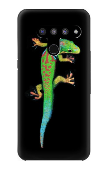 Printed Green Madagascan Gecko LG V50, LG V50 ThinQ 5G Case