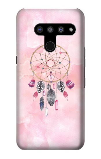 Printed Dreamcatcher Watercolor Painting LG V50, LG V50 ThinQ 5G Case