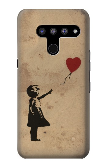 Printed Girl Heart Out of Reach LG V50, LG V50 ThinQ 5G Case