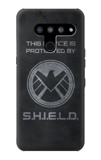 Printed This Device is Protected by Shield LG V50, LG V50 ThinQ 5G Case