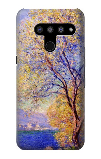 Printed Claude Monet Antibes Seen from the Salis Gardens LG V50, LG V50 ThinQ 5G Case