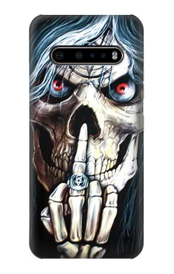 Printed Skull Pentagram LG V60 ThinQ 5G Case