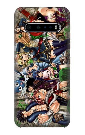 Printed Fairy Tail Guild Members LG V60 ThinQ 5G Case