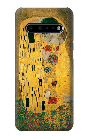 Printed Gustav Klimt The Kiss LG V60 ThinQ 5G Case