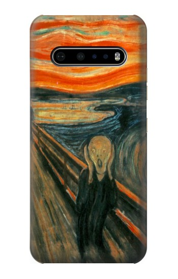 Printed Edvard Munch Scream Original Painting LG V60 ThinQ 5G Case