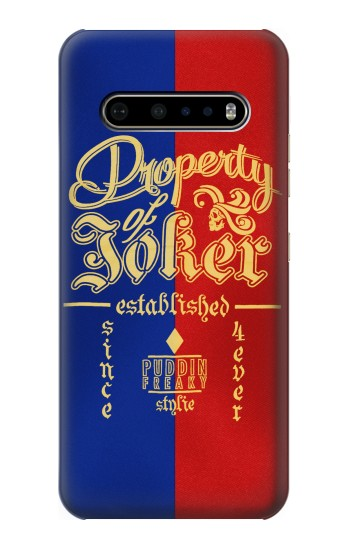 Printed Property of Joker Puddin Freaky Style LG V60 ThinQ 5G Case