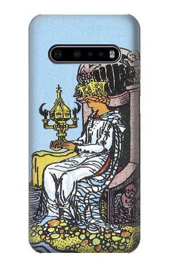 Printed Tarot Card Queen of Cups LG V60 ThinQ 5G Case