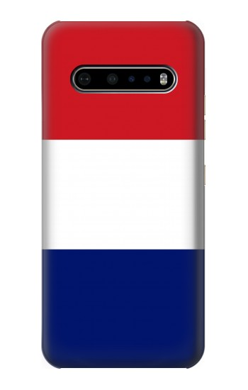 Printed Flag of France and the Netherlands LG V60 ThinQ 5G Case