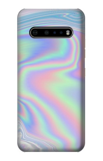 Printed Pastel Holographic Photo Printed LG V60 ThinQ 5G Case