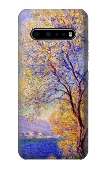 Printed Claude Monet Antibes Seen from the Salis Gardens LG V60 ThinQ 5G Case