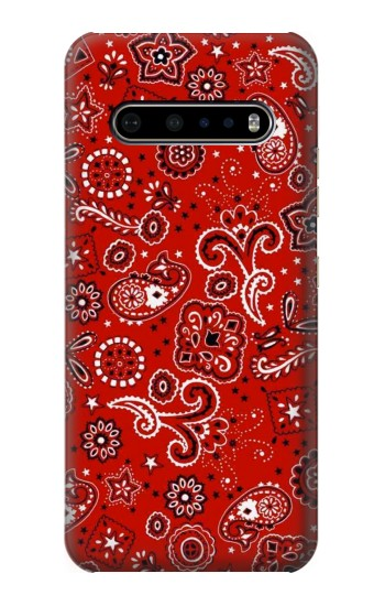 Printed Red Bandana LG V60 ThinQ 5G Case