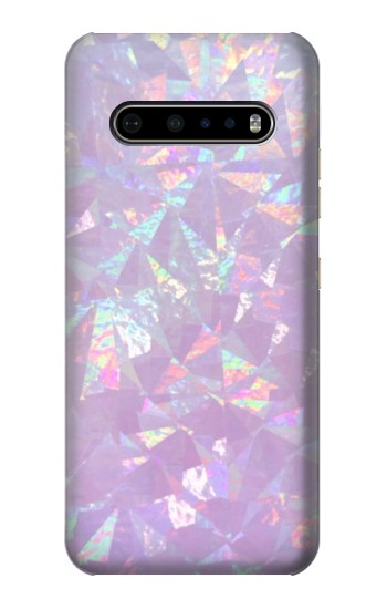 Printed Iridescent Holographic Photo Printed LG V60 ThinQ 5G Case