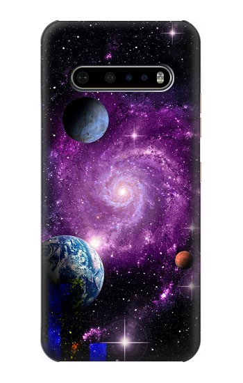 Printed Galaxy Outer Space Planet LG V60 ThinQ 5G Case