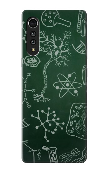 Printed Science Green Board LG Velvet Case