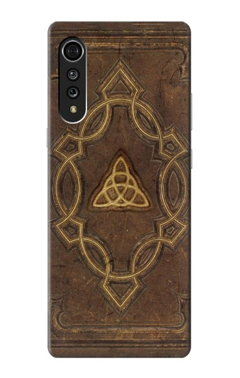 Printed Spell Book Cover LG Velvet Case