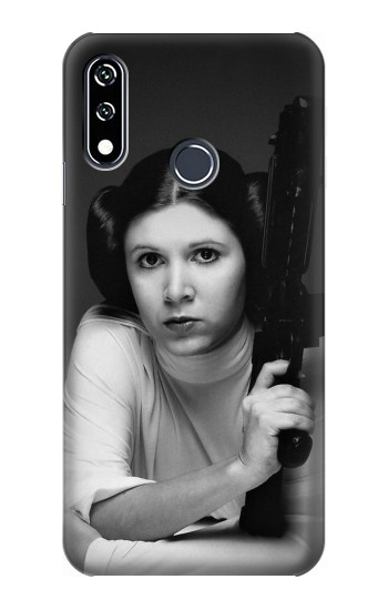 Printed Princess Leia Carrie Fisher LG W10 Case