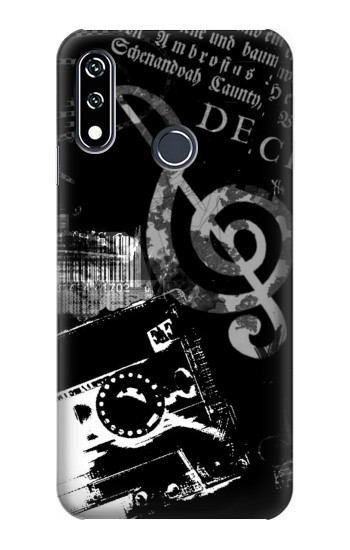 Printed Music Cassette Note LG W10 Case