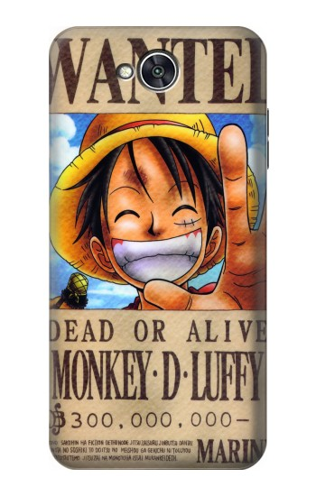 Printed One Piece Monkey D Luffy Wanted Poster LG X power2 Case