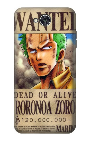 Printed One Piece Roronoa Zoro Wanted Poster LG X power2 Case