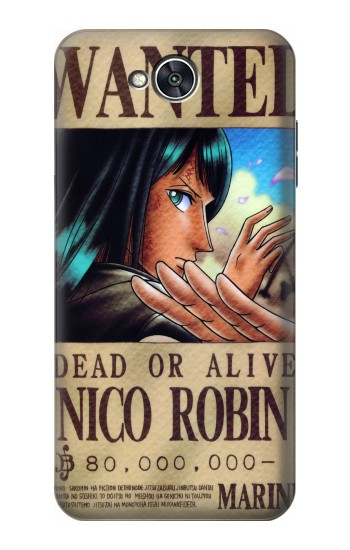 Printed One Piece Nico Robin Wanted Poster LG X power2 Case