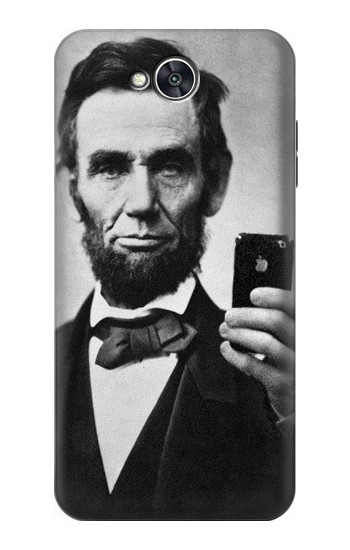 Printed Abraham Lincoln LG X power2 Case