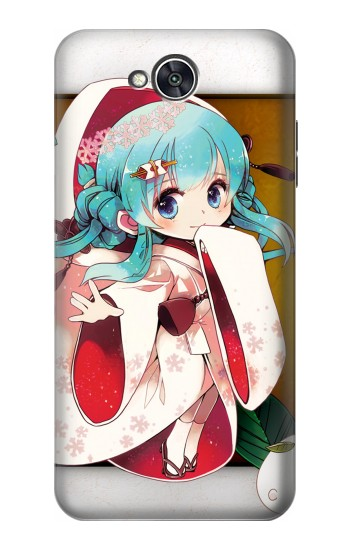 Printed Hatsune Miku Vocaloid Yuki Snow Miku LG X power2 Case