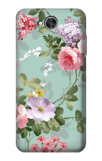 Printed Flower Floral Art Painting LG X power2 Case