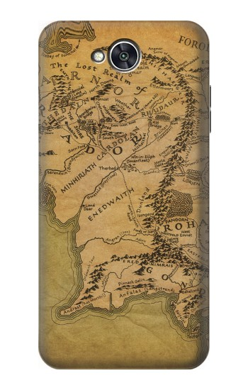 Printed The Lord Of The Rings Middle Earth Map LG X power2 Case