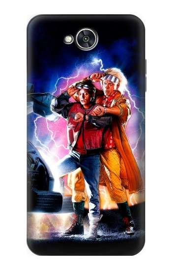 Printed Back to the Future LG X power2 Case