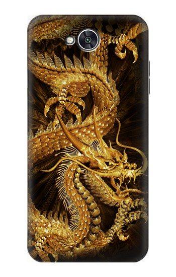 Printed Chinese Gold Dragon Printed LG X power2 Case