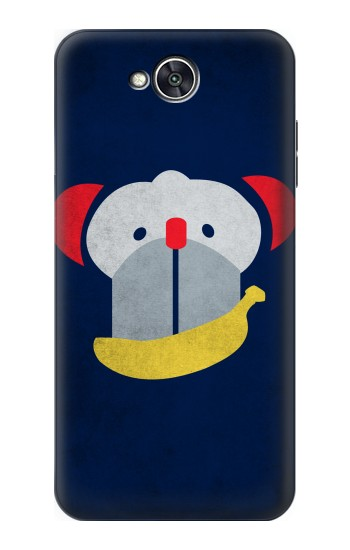 Printed Smiley Monkey Banana Minimalist LG X power2 Case