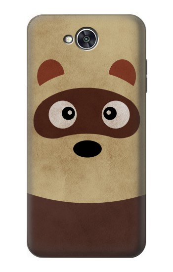 Printed Cute Cartoon Raccoon LG X power2 Case