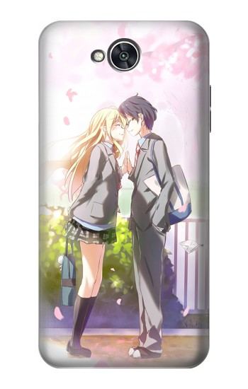Printed Shigatsu wa Kimi no Uso Your Lie in April Kousei Kaori LG X power2 Case