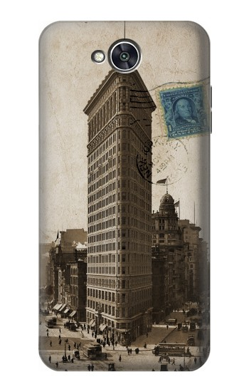 Printed New York 1903 Flatiron Building Postcard LG X power2 Case