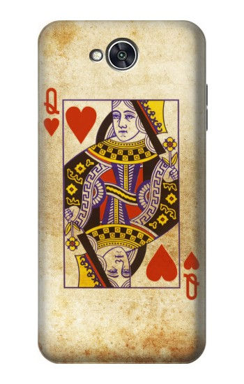 Printed Poker Card Queen Hearts LG X power2 Case