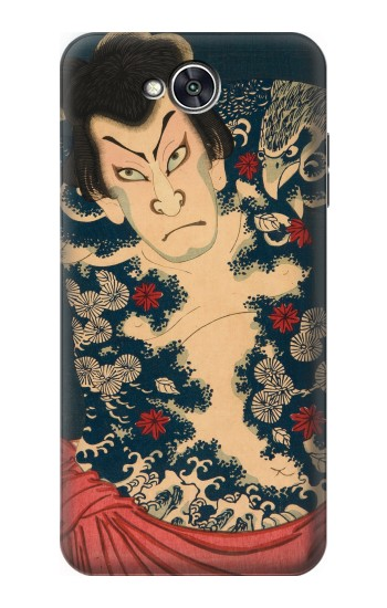Printed Toyohara Kunichika The Aabuki Actor LG X power2 Case