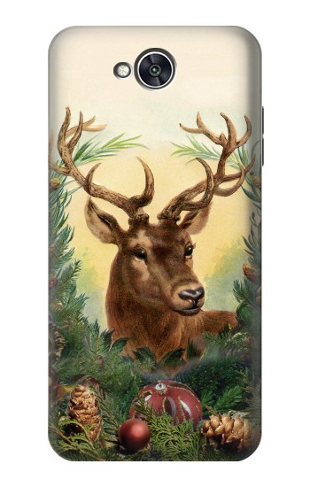 Printed Vintage Reindeer Christmas LG X power2 Case