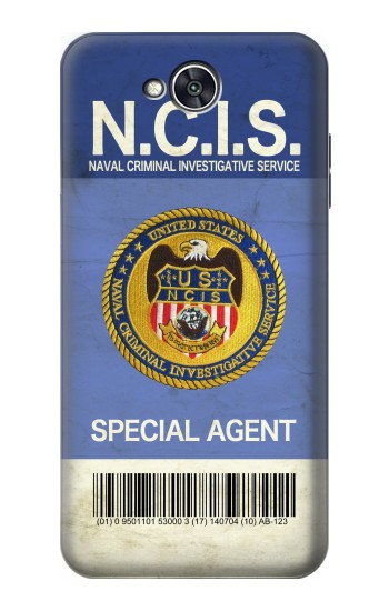 Printed NCIS Badge ID Card LG X power2 Case