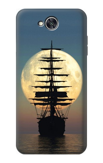 Printed Pirate Ship Moon Night LG X power2 Case