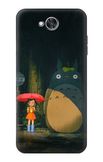 Printed Totoro Bus Stop LG X power2 Case