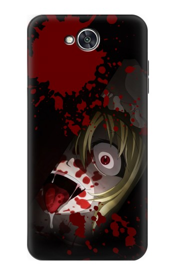 Printed Creepy Blood Splatter LG X power2 Case