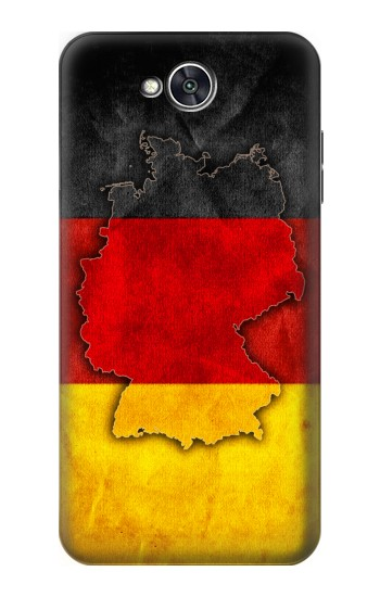 Printed Germany Flag Map LG X power2 Case