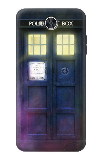 Printed Tardis Phone Box LG X power2 Case
