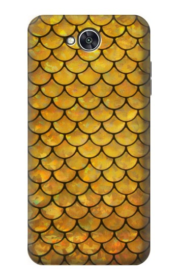 Printed Gold Fish Scale LG X power2 Case