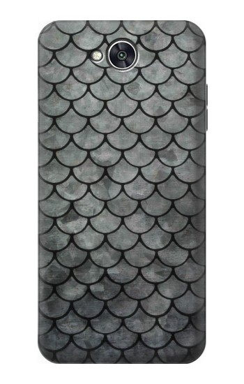 Printed Silver Fish Scale LG X power2 Case