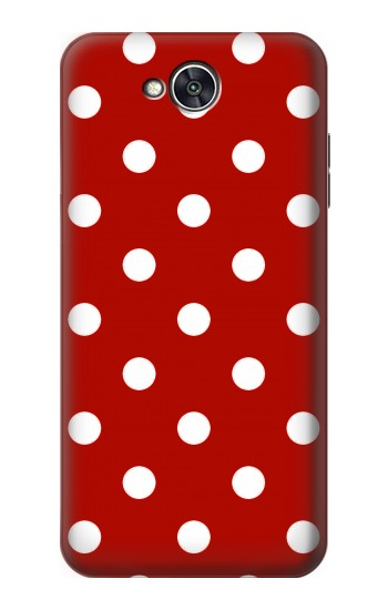Printed Red Polka Dots LG X power2 Case