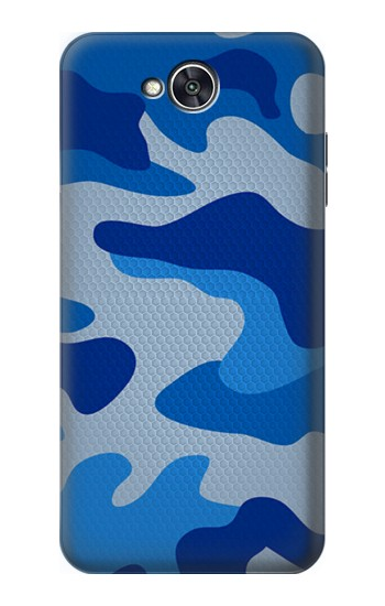 Printed Army Blue Camouflage LG X power2 Case