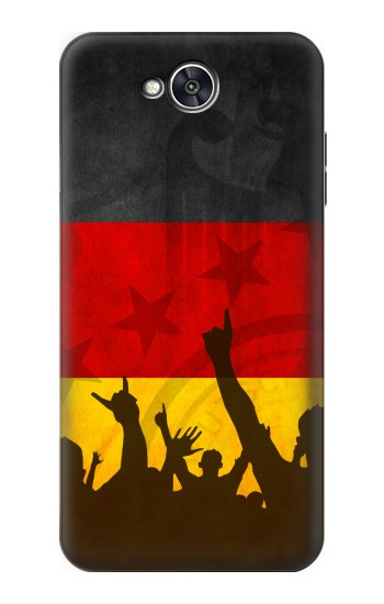 Printed Germany Football Flag LG X power2 Case