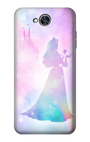Printed Princess Pastel Silhouette LG X power2 Case